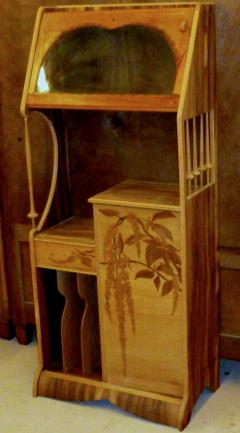 Louis Majorelle Louis Majorelle Cabinet with Wisteria Marquetry - 295642