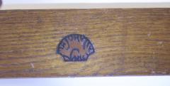 Louis Majorelle Pair of French Art Nouveau Mahogany Bracket Console Tables - 428968