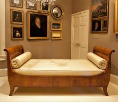 Louis Philippe Sleigh Bed Circa 1840 France - 1706567