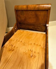 Louis Philippe Sleigh Bed Circa 1840 France - 1708671