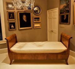 Louis Philippe Sleigh Bed Circa 1840 France - 1708673
