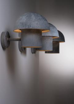 Louis Poulsen Bjarne Bech set of 6 steel wall lamps for Louis Poulsen - 2019418