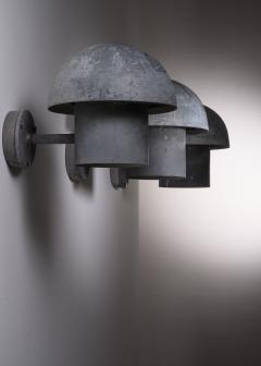 Louis Poulsen Bjarne Bech set of 6 steel wall lamps for Louis Poulsen - 2019419