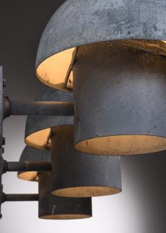 Louis Poulsen Bjarne Bech set of 6 steel wall lamps for Louis Poulsen - 2019422
