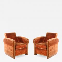 Louis Sognot Louis Sognot Pair of Modernist Club Chairs - 1543647