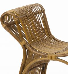 Louis Sognot louis sognot attributed superb rattan throne shaped bench - 1651724