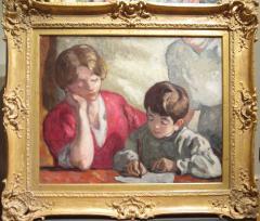 Louis Valtat Portrait de famille Valtat La Dictee  - 93944