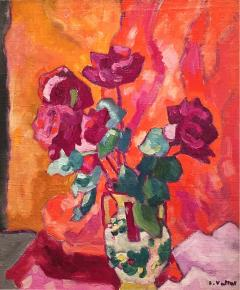Louis Valtat Still Life with Roses - 1350905
