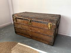 Louis Vuitton Early Historically Important Vintage Louis Vuitton Steamer Trunk - 1155938