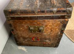 Louis Vuitton Early Historically Important Vintage Louis Vuitton Steamer Trunk - 1155945