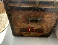 Louis Vuitton Early Historically Important Vintage Louis Vuitton Steamer Trunk - 1155946