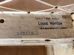 Louis Vuitton Early Historically Important Vintage Louis Vuitton Steamer Trunk - 1155948