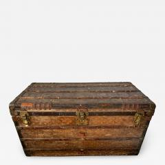Louis Vuitton Early Historically Important Vintage Louis Vuitton Steamer Trunk - 1155999