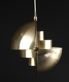 Louis Weisdorf Original Multi Light Pendant by Louis Weisdorf for Lyfa - 1094092