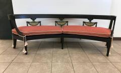 Louis XIV Style Curved Bench - 433318