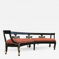 Louis XIV Style Curved Bench - 433468