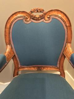 Louis XV Style Armchairs France 19th century - 730016