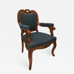 Louis XV Style Armchairs France 19th century - 732062
