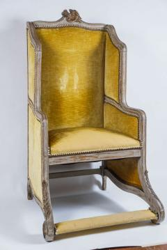 Louis XV Style Bergere or Armchair of Unusual Form France circa 1890 - 788661