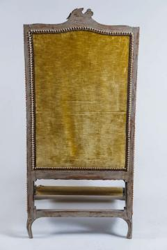 Louis XV Style Bergere or Armchair of Unusual Form France circa 1890 - 788662
