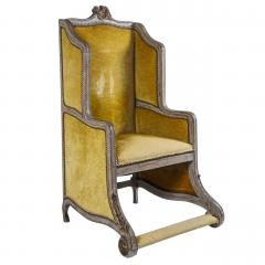 Louis XV Style Bergere or Armchair of Unusual Form France circa 1890 - 788663