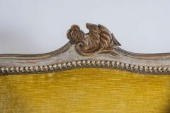Louis XV Style Bergere or Armchair of Unusual Form France circa 1890 - 788665