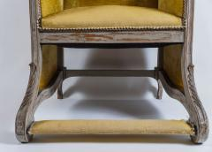 Louis XV Style Bergere or Armchair of Unusual Form France circa 1890 - 788668
