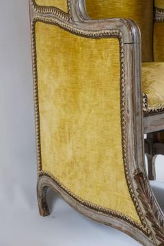Louis XV Style Bergere or Armchair of Unusual Form France circa 1890 - 788670