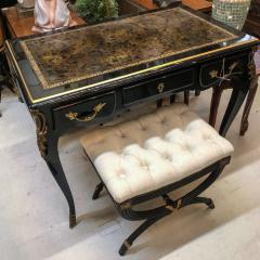 Louis XV Style Desk Secretary with Neoclassical Stool - 1051127