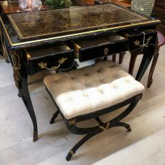 Louis XV Style Desk Secretary with Neoclassical Stool - 1058465