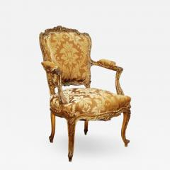 Louis XV Style Fauteuil or Armchair - 759152