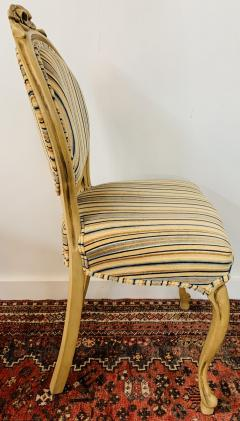 Louis XV Style Oval Back Side Chair a Pair - 1639916