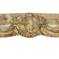 Louis XV Style Sarrancolin Framboise Marble Mantlepiece - 1532684