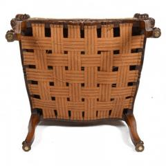 Louis XV Walnut Fauteuil Arm Chair 19th C French - 167836