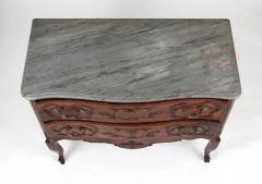 Louis XV Walnut Serpentine Chest c 1770 80 - 1177878