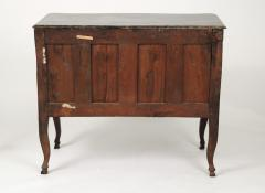 Louis XV Walnut Serpentine Chest c 1770 80 - 1177882