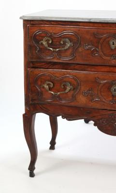 Louis XV Walnut Serpentine Chest c 1770 80 - 1177884