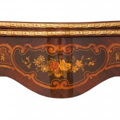 Louis XV style gilt bronze and marquetry card table - 1443665