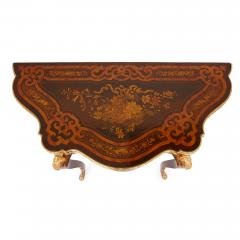 Louis XV style gilt bronze and marquetry card table - 1443668
