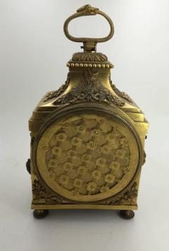 Louis XVI Ormolu Carriage Clock Pendule dOfficier Late 18th Century - 614168