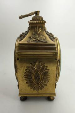 Louis XVI Ormolu Carriage Clock Pendule dOfficier Late 18th Century - 614170
