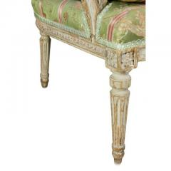 Louis XVI Painted Bergere - 1532570