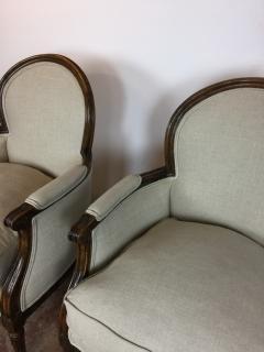 Louis XVI Style Club Chairs - 895188
