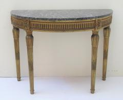 Louis XVI Style Demilune Console Table - 1910223