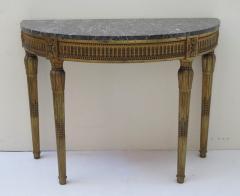 Louis XVI Style Demilune Console Table - 1910224