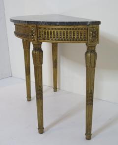Louis XVI Style Demilune Console Table - 1910227