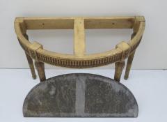 Louis XVI Style Demilune Console Table - 1910230
