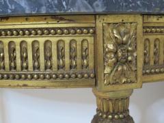 Louis XVI Style Demilune Console Table - 1910233