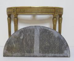 Louis XVI Style Demilune Console Table - 1910236