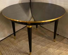 Louis XVI Style Ebony Center or Dining Table Manner of Maison Jansen Refinished - 1241064